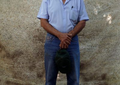 Victor Zambrano an ecological farmer and community leader for saving the environment.